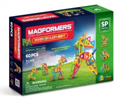 MAGFORMERS Neon color set