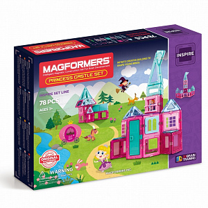 MAGFORMERS Princess castle